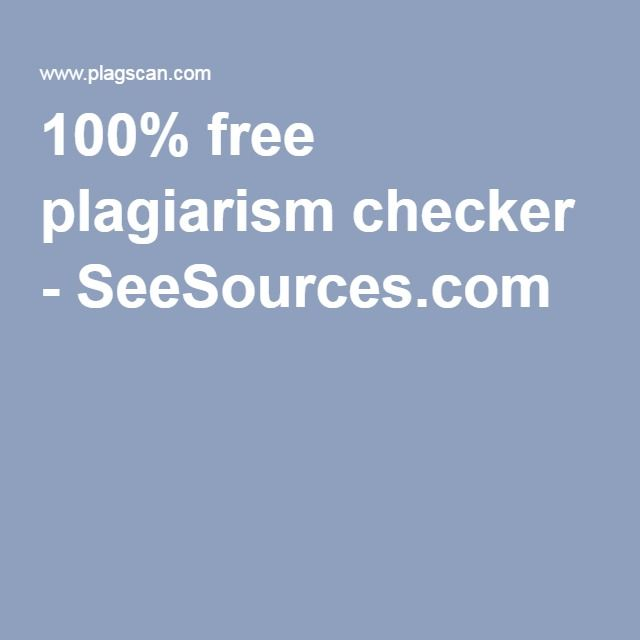 100% free plagiarism checker - Use this to see if students are just copying and pasting!