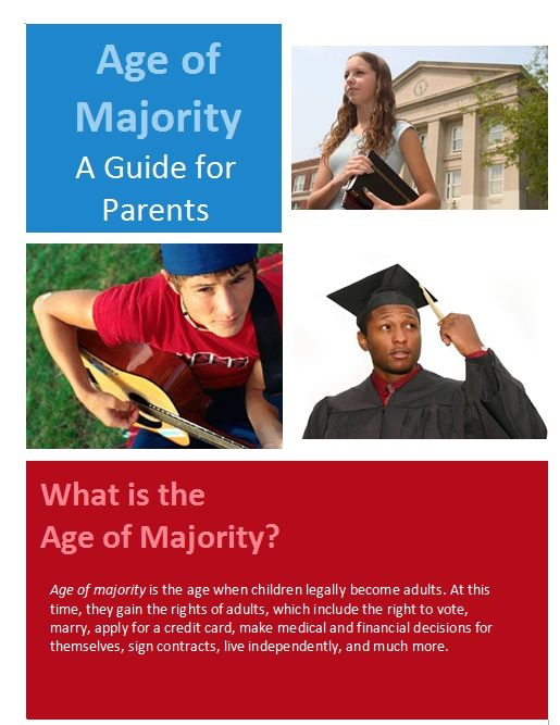 Getting Ready for When Your Teen Reaches the Age of Majority: A Parent's Guide