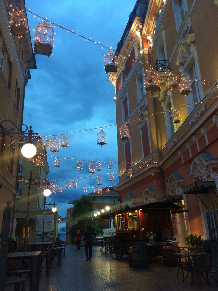 magic at dusk Opitija Croatia 2015