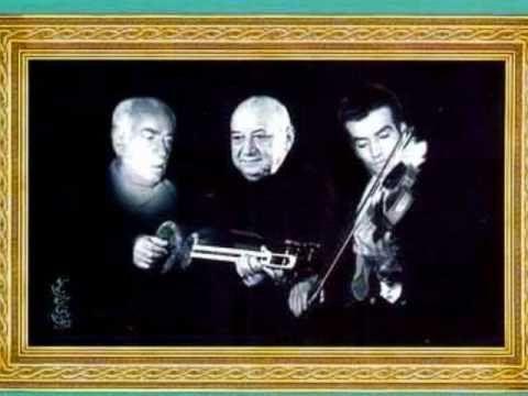 عشقبازی سازهای عاشق - تار، ویولون، پیانو  عشقبازی سه ساز تار و ویولون و پیانو - جلیل شهناز، پرویز یاحقی، جواد معروفی  آواز اصفهان - تمبک: جهانگیر ملک - آلبوم: راز