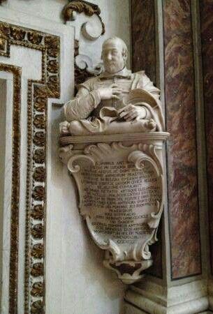Busto Antinori. Giuliano Finelli. 1657. Chiesa dei Santi Apostoli a Napoli.