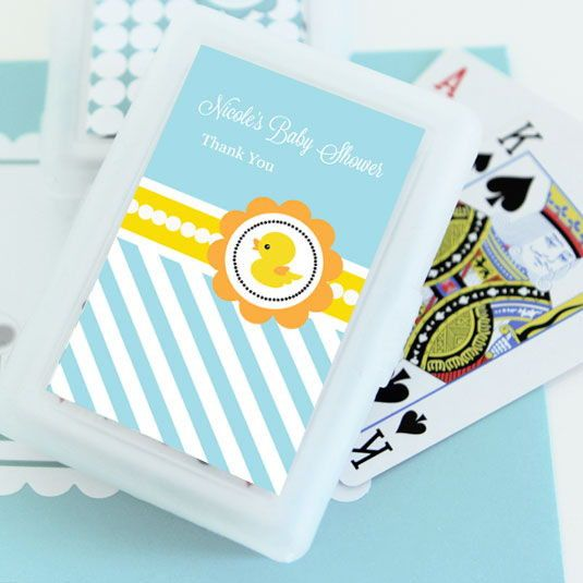 Rubber Ducky Personalized Playing Cards Set of 24 Decks