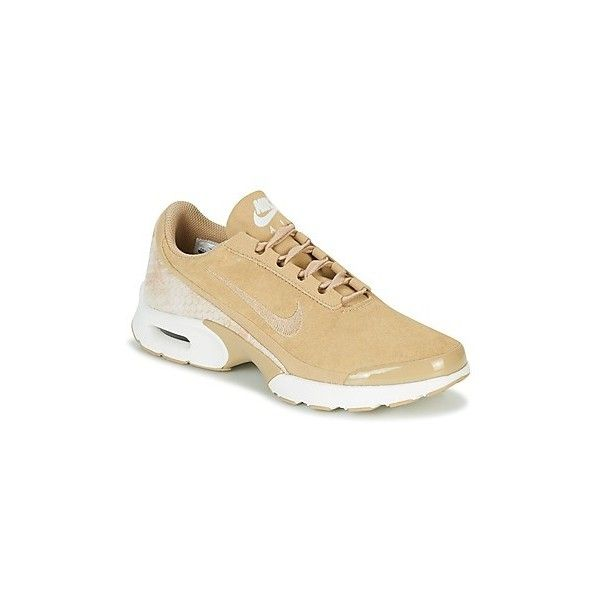 Nike AIR MAX JEWELL PREMIUM TEXTILE W Shoes (Trainers) ($135) ❤ liked on Polyvore featuring shoes, sneakers, beige, trainers, women, nike shoes, nike footwear, nike, beige sneakers and textile shoes