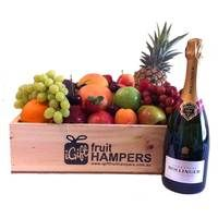 Bollinger Special Cuvée French Champagne Gift  Give the gift of fruit this Christmas and show them how much you care! We specialise in fresh fruit gift hampers which are shipped Australia wide. www.igiftfruithampers.com.au #christmasgifthampers #christmashampers #corporatehampers #corporategifts