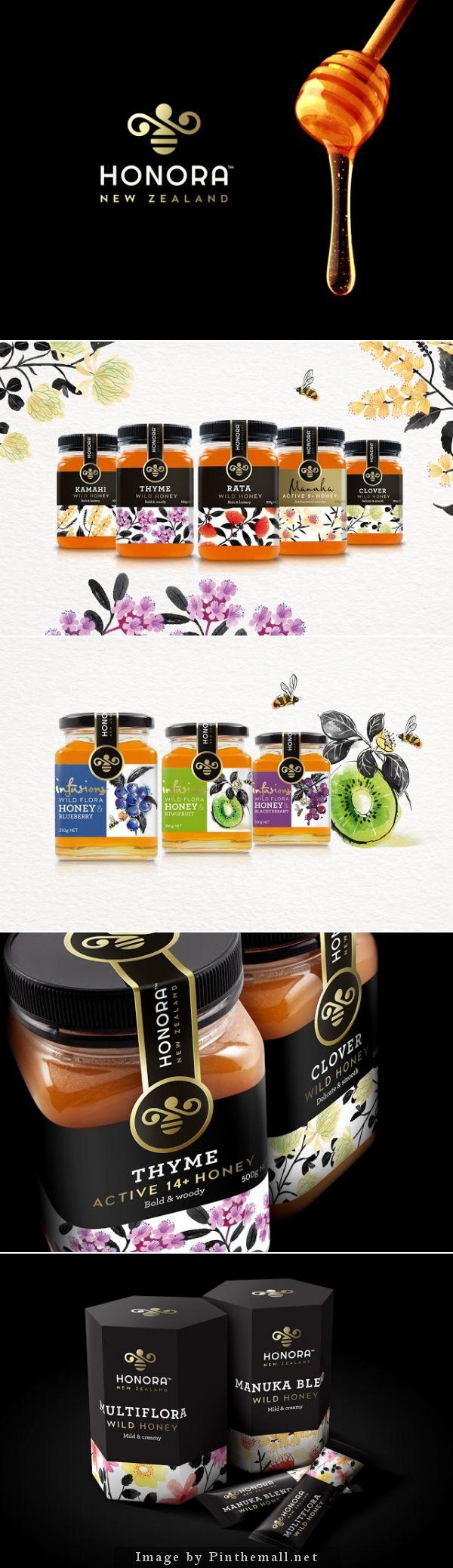 Honora Honey. Agency: Curious Design. Designer: Monique Pilley