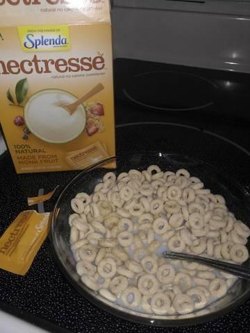 """Makes plain Cheerios cheery!"" - Anne"