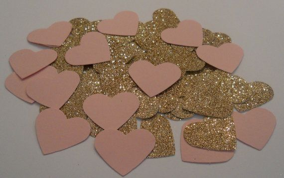 Hey, I found this really awesome Etsy listing at https://www.etsy.com/listing/180372556/rose-gold-and-pink-wedding-glitter