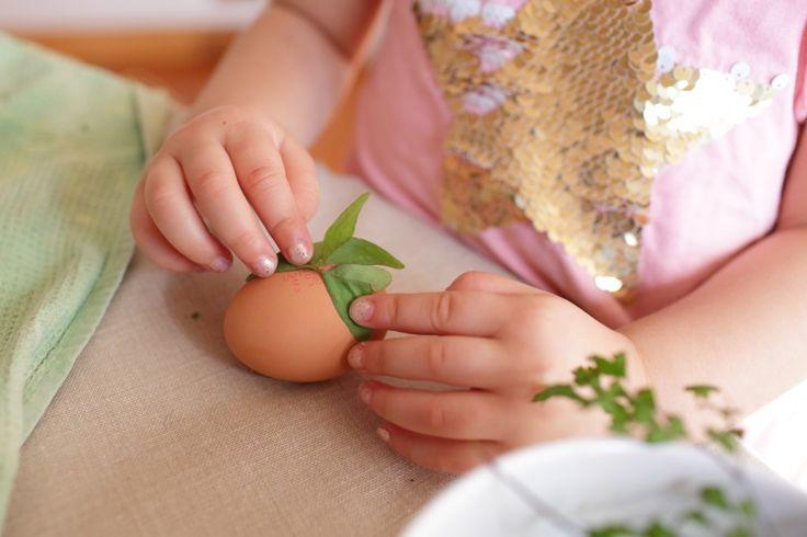 Dying eggs for Easter Recipe at WWW.EFFIGEORGIA.COM.AU
