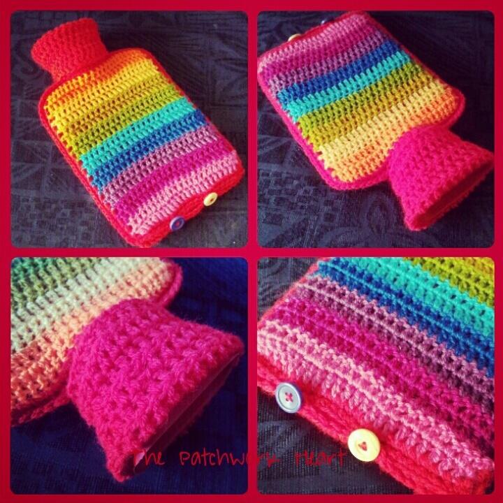Rainbow striped hottie