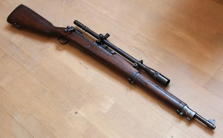 M1903 Springfield - sniper rifle of the U.S. in WWII