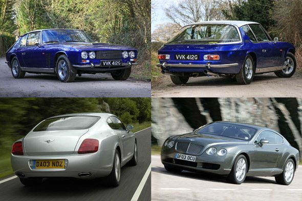 Automotive Reincarnations Jensen Ff And Bentley Continental Gt Bentley Continental Gt Bentley Continental Upcoming Cars