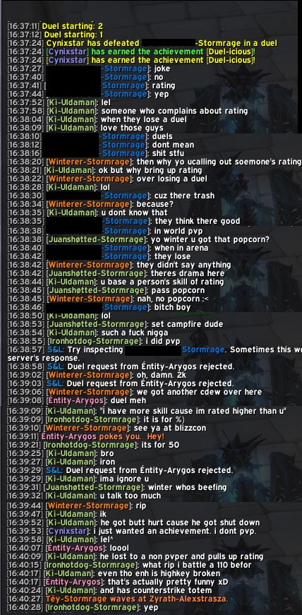 I don't pvp. #worldofwarcraft #blizzard #Hearthstone #wow #Warcraft #BlizzardCS #gaming