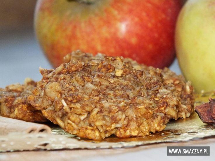 Aromatyczne owsiano-jabłkowe ciasteczka