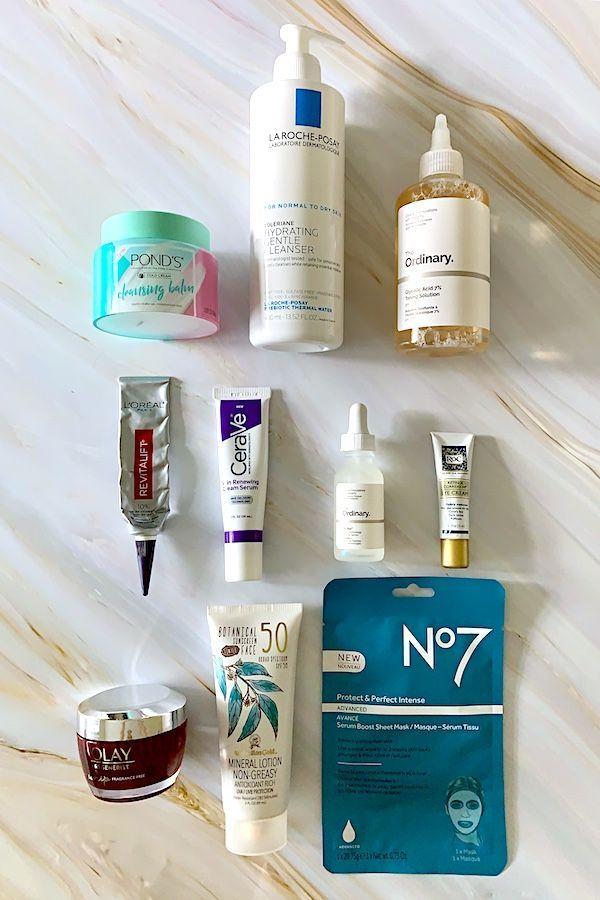 Drugstore Anti Aging Skincare Essentials Skin Care Essentials Anti Aging Skin Care Anti Aging Skin Products