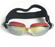 2018 UV protect anti fog swimming goggles swimming goggle swim goggles with neoprene and silicon strap for men