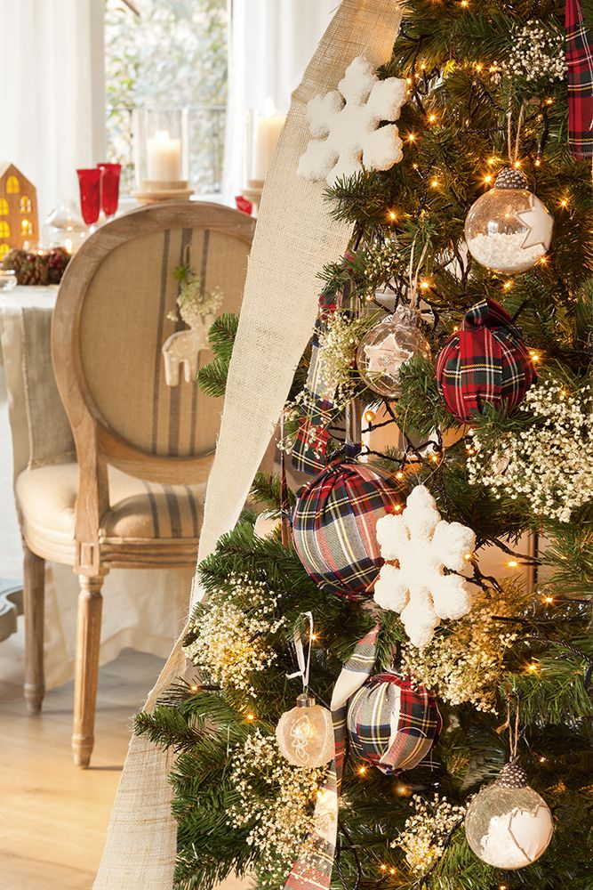 M s de 1000 ideas sobre navidad r stica en pinterest - Arboles de naviad ...
