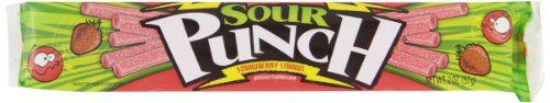 American Licorice Sour Punch Straws, Strawberry, 2-Ounce Boxes (Pack of 24) - http://bestchocolateshop.com/american-licorice-sour-punch-straws-strawberry-2-ounce-boxes-pack-of-24/