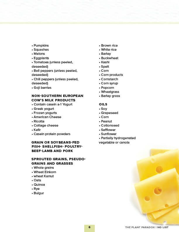 Dr. Gundry Approved Foods (an easy, print-friendly list ...