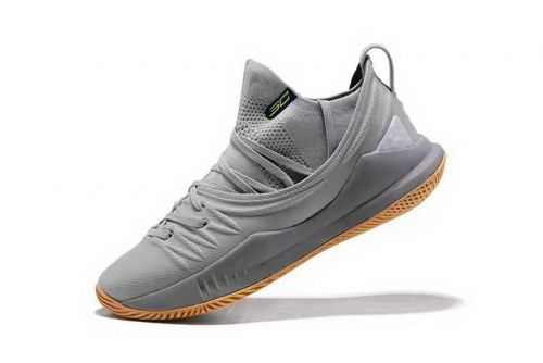 b39fe95929b2 Where To Buy Stephen Currys Under Armour Curry 5 Low-Top Grey Gum  Basketball Shoes For Sale - ishoesdesign
