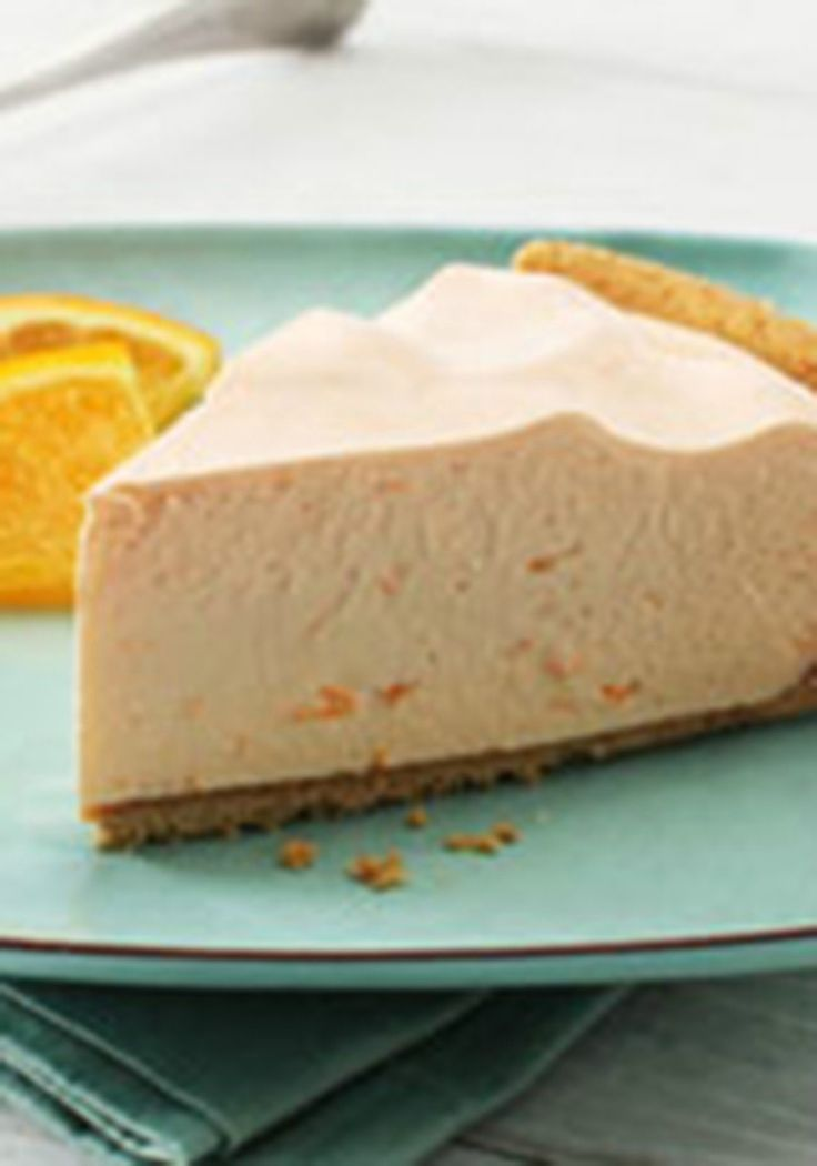COOL 'N EASY Orange Refrigerator Pie — Want cool and easy ... Orange Jello