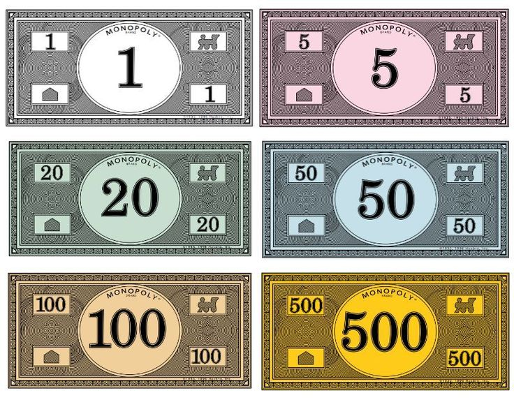 Printable Monopoly money: Where to find it, to replace your stash