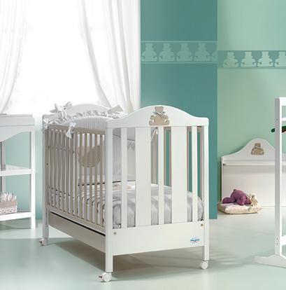 Βρεφικά Έπιπλα - Κρεβάτι Μωρού - Baby Italia Βρεφικό Κρεβάτι Theo