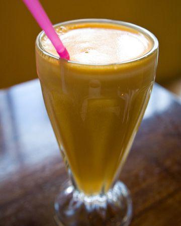 Vegan pumpkin shake