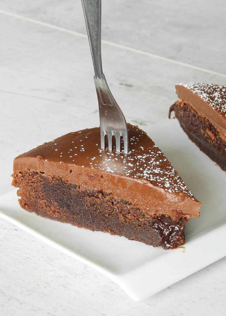 Browniekaka med mjölkchokladkolakräm – Lindas Bakskola