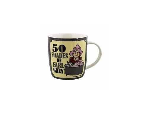 FACEBOOK AUNTY ACID CERAMIC MUG - 50 SHADES OF EARL GREY AA156 **REDUCED**