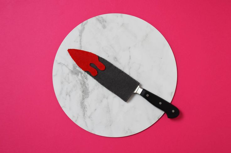 DIY Bloody Knife Cover (Instructions   Patterns)