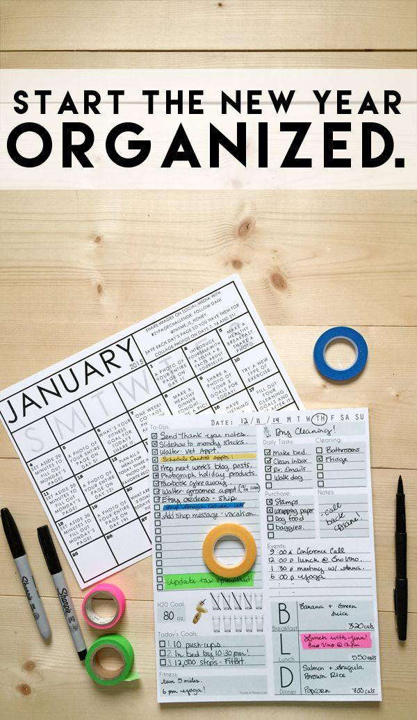 Get a jumpstart on your goals and New Year's Resolutions for 2015 with the Daily Page Notepad and the 21 Page Challenge!