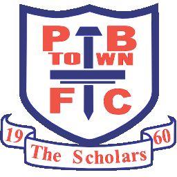 1960, Potters Bar Town F.C. (England) #PottersBarTownFC #England #UnitedKingdom (L16663)