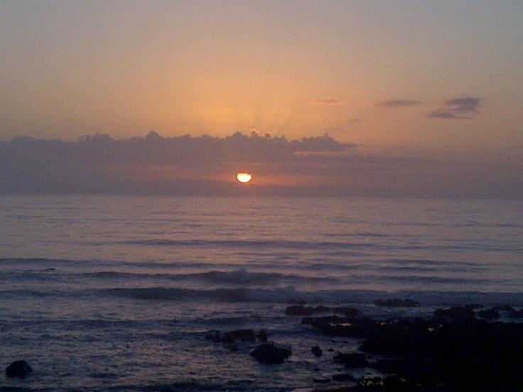 Sunrise over JBay