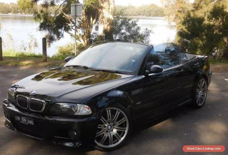 2006 BMW M3 E46 AUTOMATIC NO RESERVE BLACK CONVERTIBLE 3.2L #bmw #m3 #forsale #australia