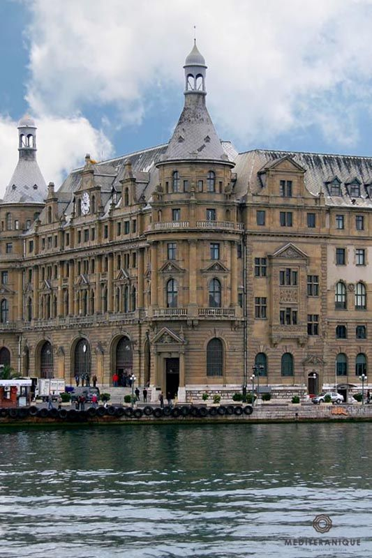 Haydarpasa Station, Istanbul. For luxury hotels in Istanbul visit http://www.mediteranique.com/hotels-turkey/istanbul/