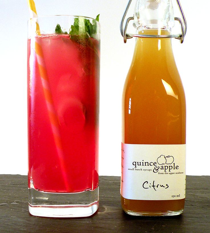 Choose two fine craft cocktail syrups from four flavor choices. These are GOOD!