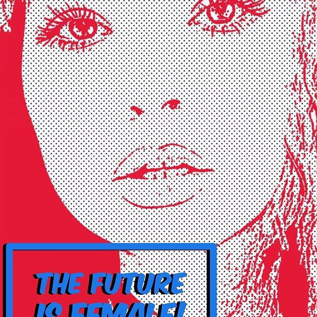 Sophie Maddocks - Manchester School of Art - Graduate Collection 2017. Feminism. Comic. Pop Art. Digital Print.