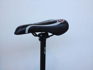 Spybike GPS tracker in a seatpost