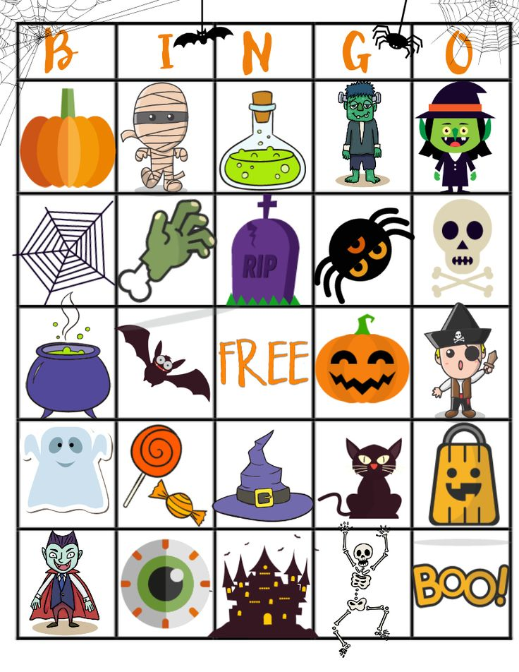 graphic relating to 25 Printable Halloween Bingo Cards named √ Halloween Bingo Templates Absolutely free 12 Coolest Halloween