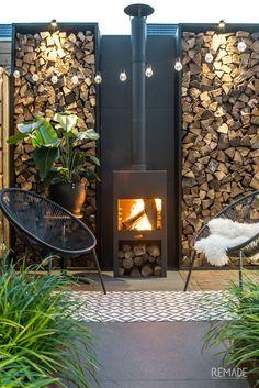 Hoe heerlijk zou het zijn als je in de herfst of op andere momenten ook nog van je tuin kunt genieten bij een buitenhaard?