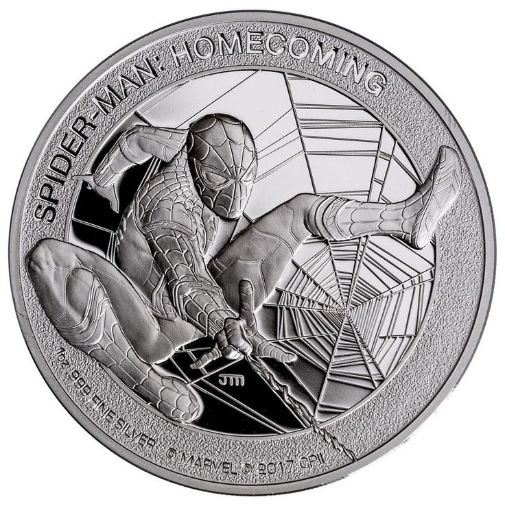 2017 Cook Islands Marvel Spider-Man Homecoming 1 oz Silver Proof Coin GEM Proof | Coins & Paper Money, Coins: World, Australia & Oceania | eBay!