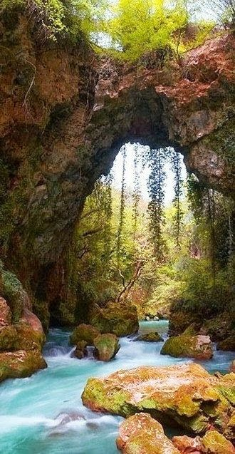 Danijela Živković - Google+ - Theogefiro (God's bridge), Zitsa, Greece