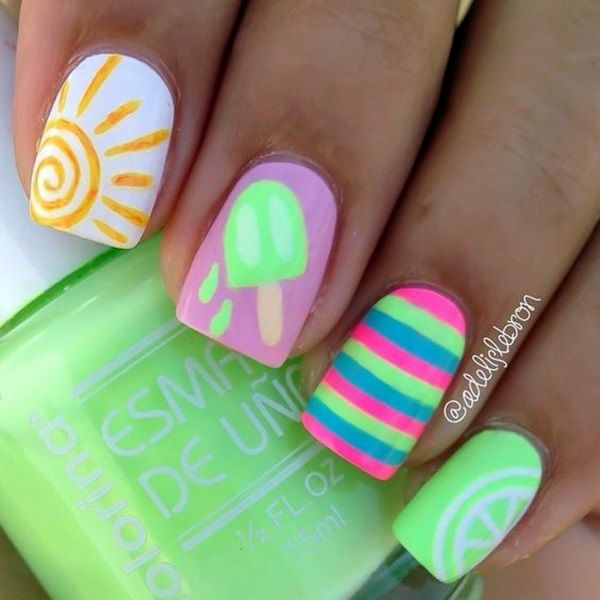 Summer Nail Art and Colors (25)