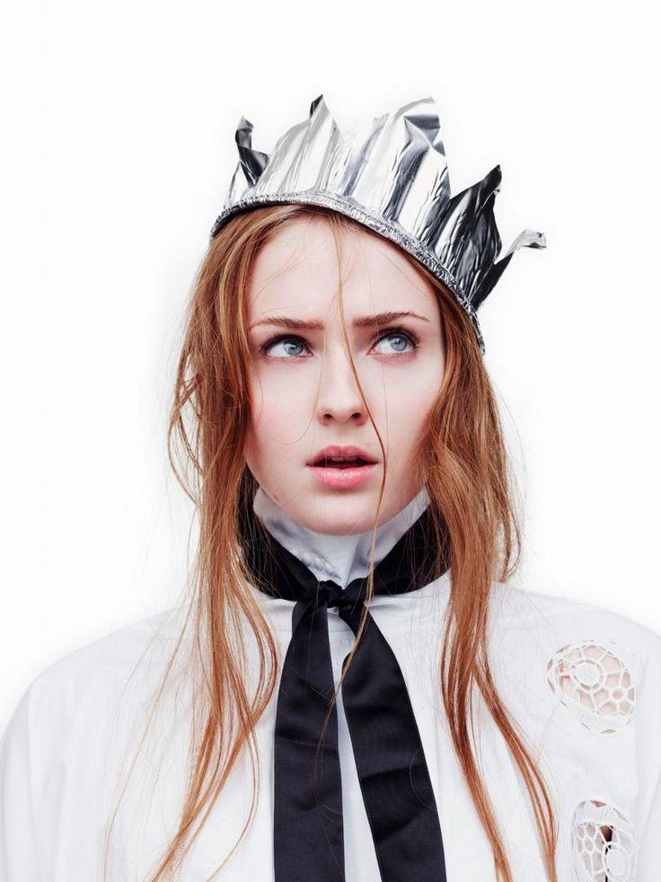 Sophie Turner - Interview magazine, April 2015