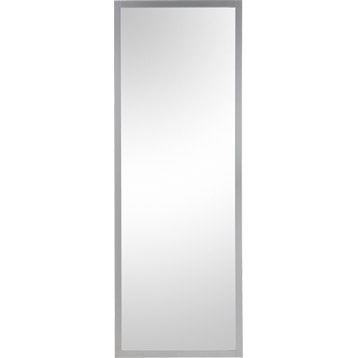 Porte coulissante aspen miroir aluminium pleine artens for Porte 204x83
