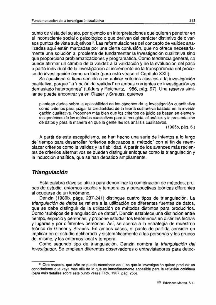 (9) Investigación Cualitativa de Flick | Yuraí Belmont - Academia.edu