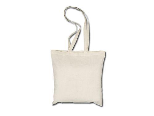 Bavlněné tašky 38 x 42 cm - přírodní, dlouhá ucha 19,52