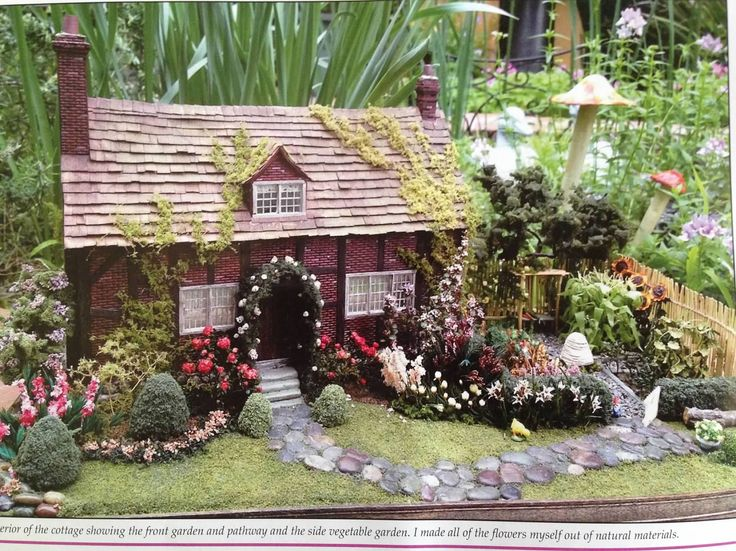 dollhouse landscaping