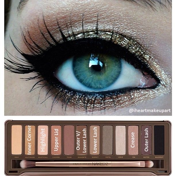 .@iheartmakeupart   Here's the pictorial for my gold shimmery look Base: NYX milk jumbo pencil Hi...   Webstagram - the best Instagram viewer