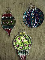 Art Club? Or MS demo Embossed Aluminum Ornaments